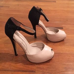 BcbGeneration | Lin Pump Black and Beige Leather